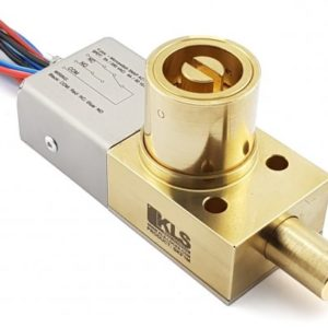 "Heavy Duty Bolt Lock, ""K"" Cylinder with Electrical Feedback, Full Body BRASS and Standard Switch"