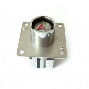Serratura rotante con interruttore di potenza 20/2c
