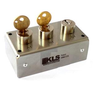 """Scambiatore di chiavi, cilindro """"S"""" a 3 chiavi"""
