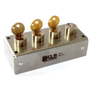"""Scambiatore di chiavi, cilindro """"S"""" a 4 chiavi"""