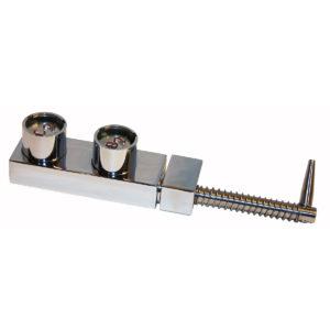 Serratura di blocco porta a doppia chiave d'accesso, cilindro H