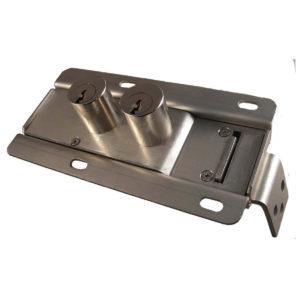 Serratura di blocco porta a doppia chiave d'accesso, cilindro S