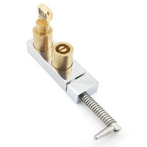 Serratura di blocco porta a doppia chiave d'accesso, cilindro K